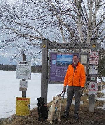 maine snowshoe trip 25