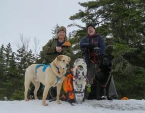 maine snowshoe trip 47c